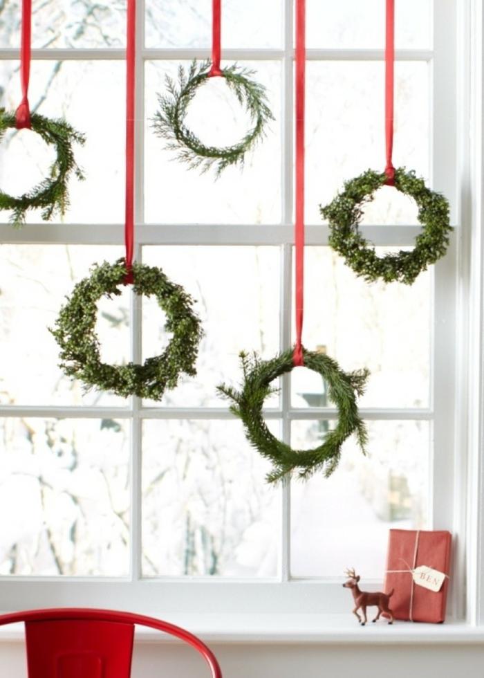 couronnes de Noël pour décoration de Noël