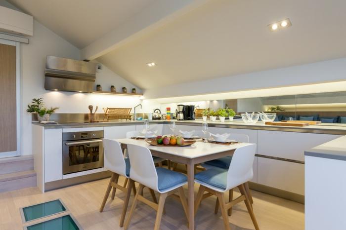 cuisine moderne aménagement de combles