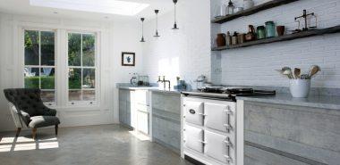 Cuisine rustique moderne : 30 idées d\'une conception réussie