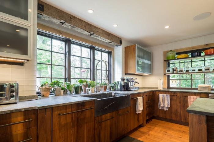 Interesting cuisine rustique et moderne home staging Home staging cuisine rustique
