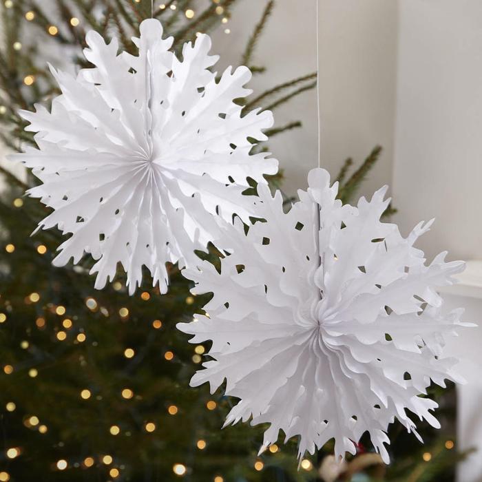 déco fenêtres décoration de Noël