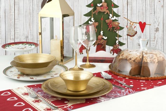 déco simple décoration de table de noël