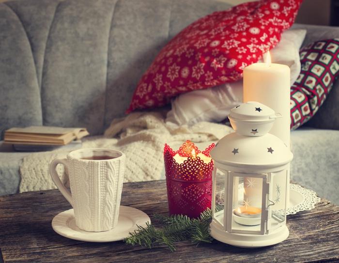 décoration de Noël chaleureuse