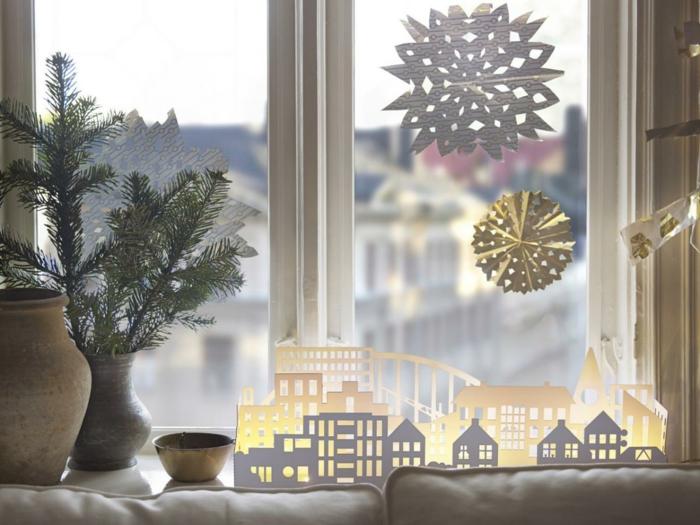 décoration de Noël flocons de neige