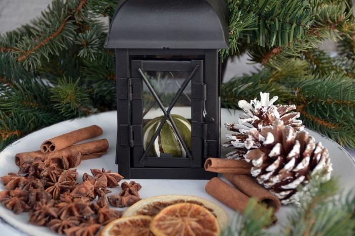 décoration de Noël idée avec cannelle