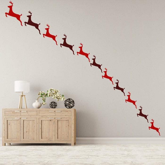 Id es d coration de no l 100 inspirations pour un int rieur - Idee deco mur escalier ...