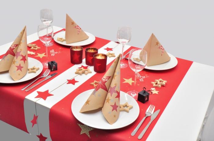 décoration de table de noël idée diy
