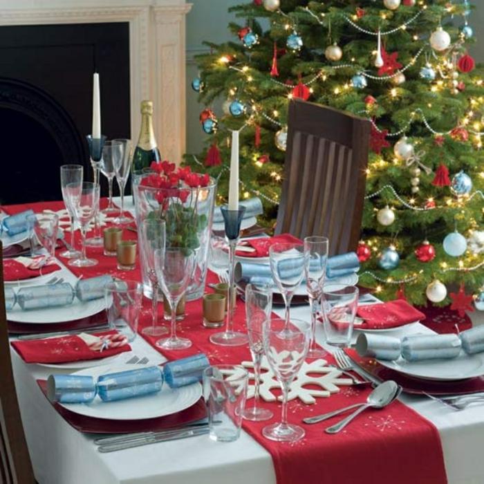 décoration de table de noël messages pour les invités