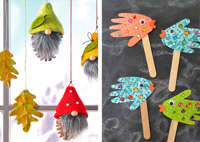 décorations créatives noël activité manuelle facile