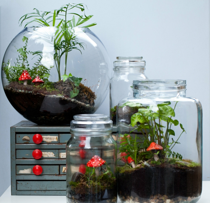 diy cadeau noël comment faire un terrarium