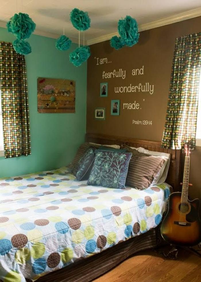 chambre fille ado 30 id es de design magnifique. Black Bedroom Furniture Sets. Home Design Ideas
