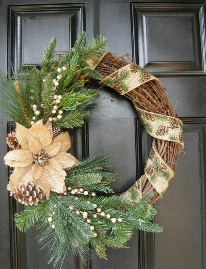Encore une id e sympa pour une d coration festive pour no l - Idee de decoration de table pour noel ...
