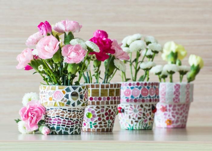 Diy Idees Comment Personnaliser Les Pots De Fleurs