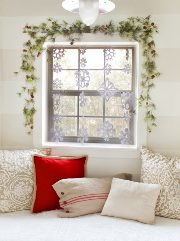 id es d coration de no l 100 inspirations pour un int rieur chaleureux. Black Bedroom Furniture Sets. Home Design Ideas