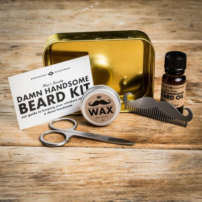 idée cadeau homme soin de barbe