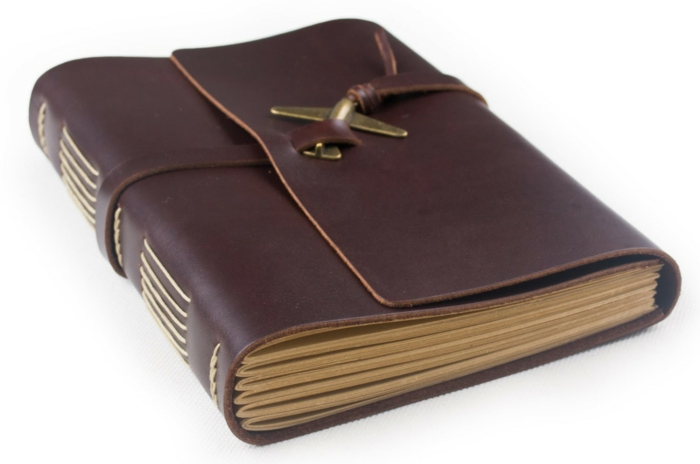 idée cadeau homme un carnet en cuir