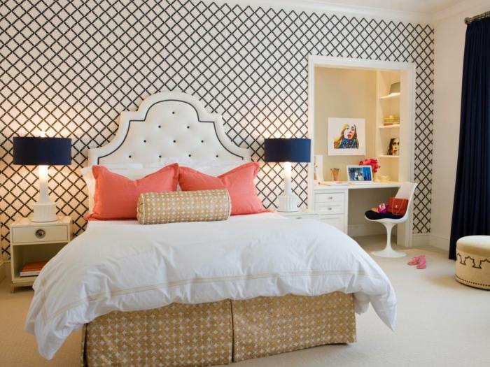 Chambre fille ado idées de design magnifique