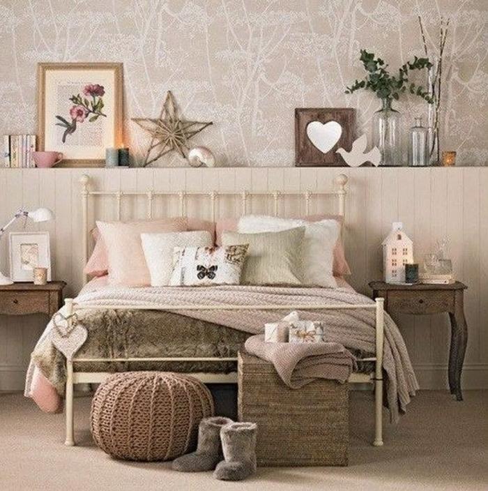 idée chambre fille adolescente style romantique