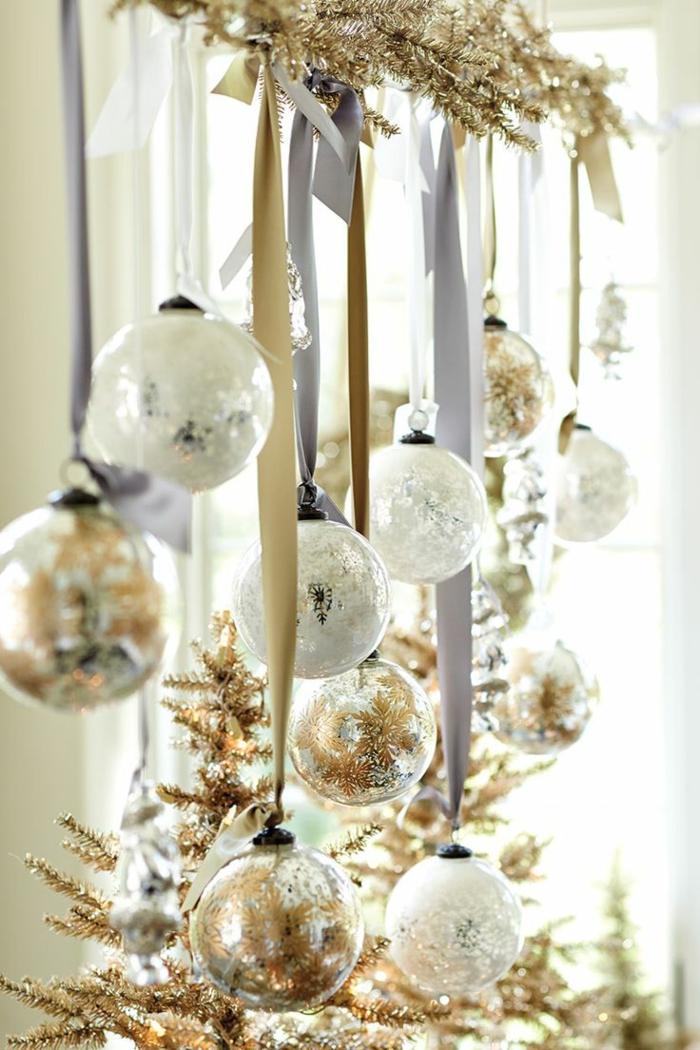 idée décoration de Noël fenêtre