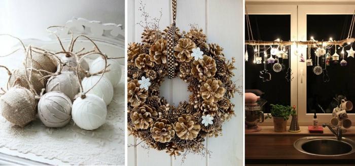 idée décoration de Noël intéressante