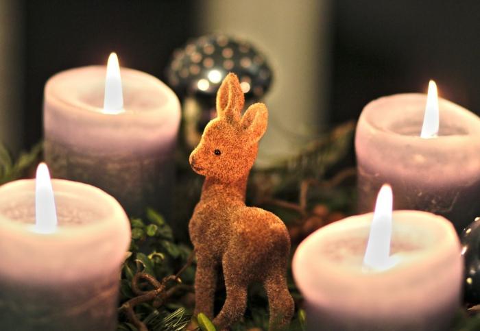 idée décoration de Noël pour la table
