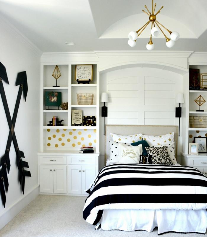 idée design intérieur chambre fille ado