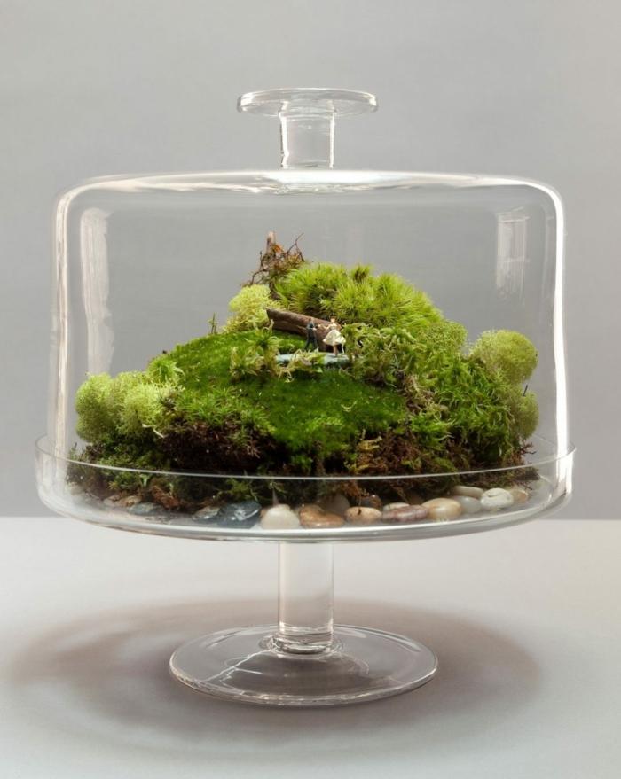 idée diy cadeau noël terrarium fermé