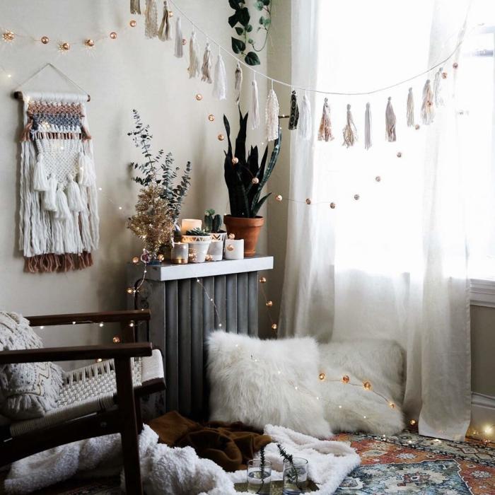 idées de décoration de Noël chaleureuse