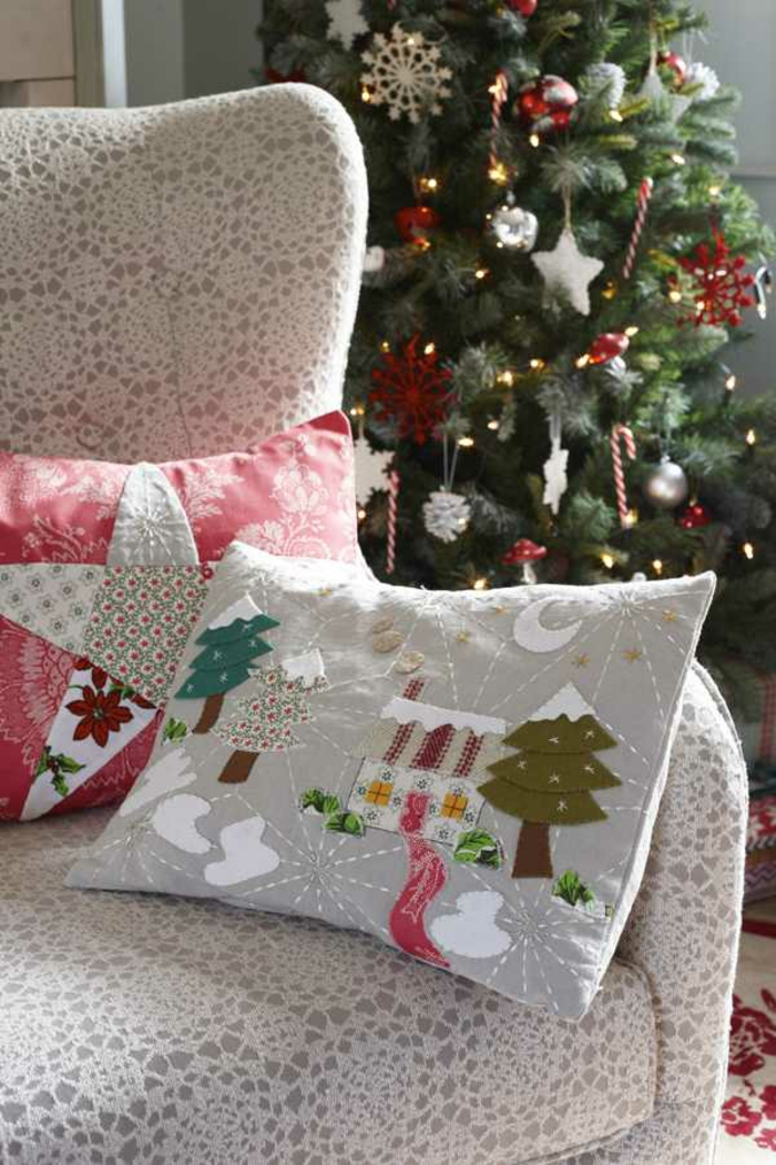 idées intérieur pour la décoration de Noël