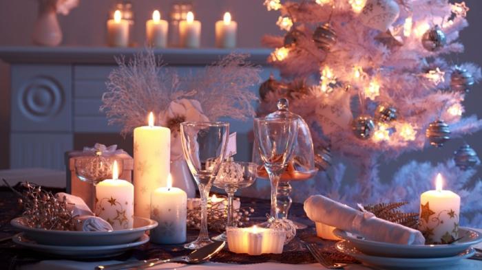 intérieur décoration de Noël