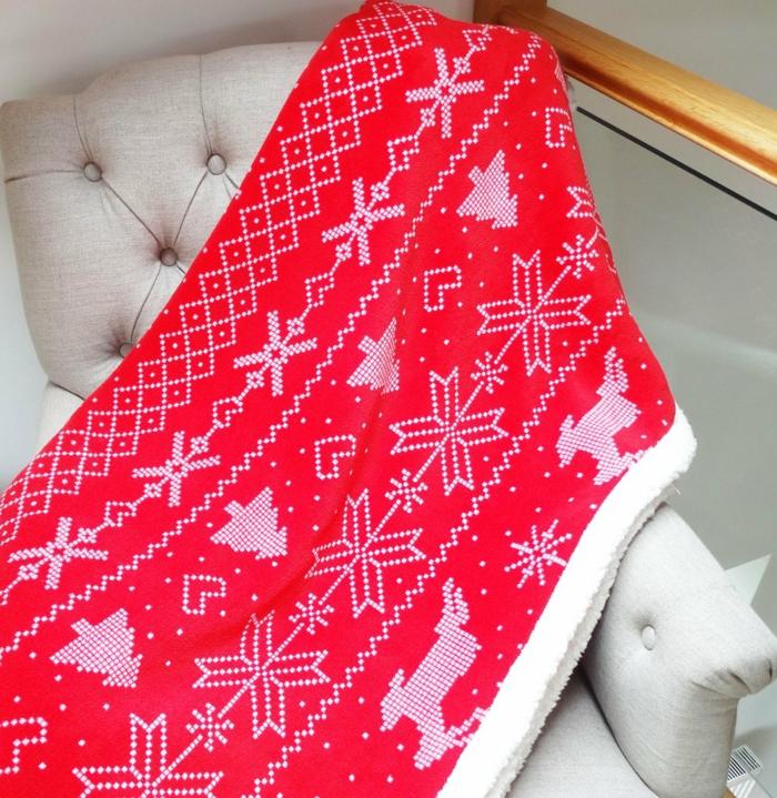 jolie et cosy décoration de Noël