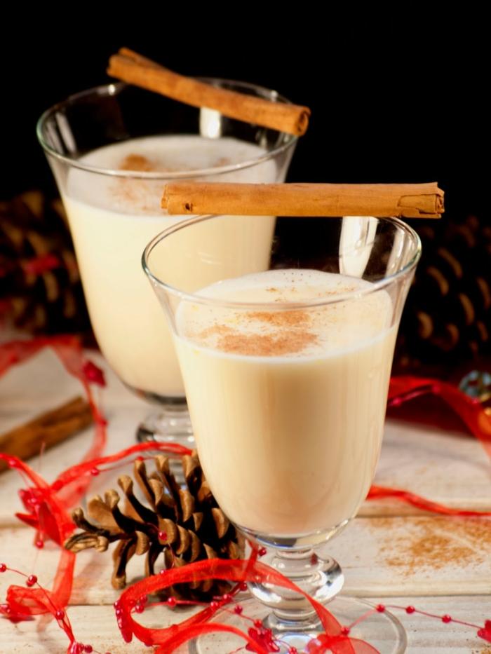 lait de poule recette avec du lait