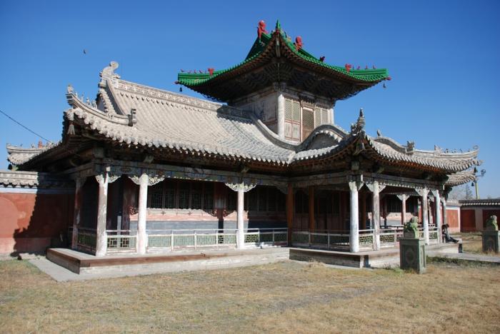 le palais d'hiver du Bogd Khan oulan-bator