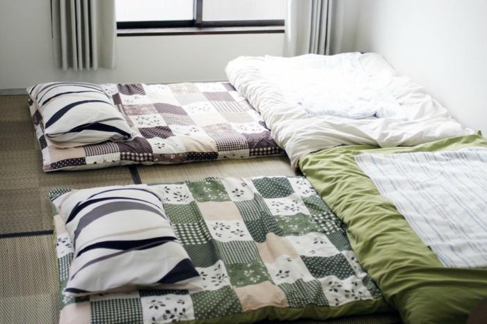 Lit Futon Pour Une Chambre A Coucher De Style Japonais