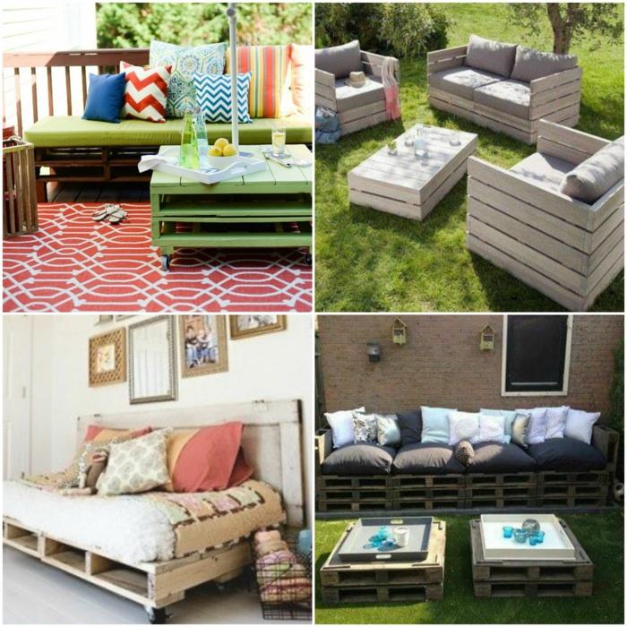meubles de palettes banc palette