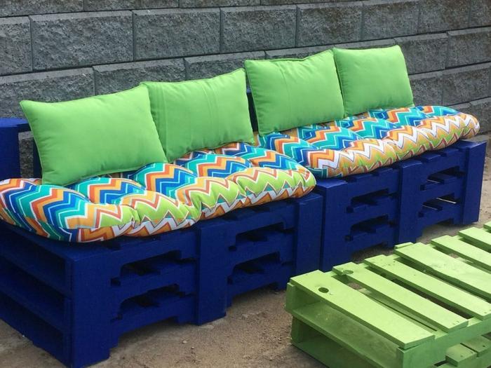 meubles extérieur banc palette