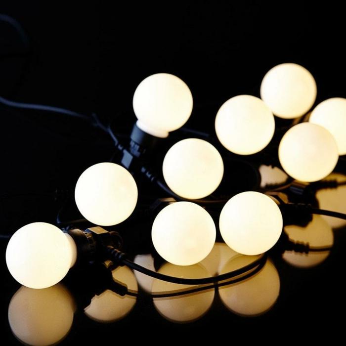 modèle guirlande lumineuse pour décoration de Noël