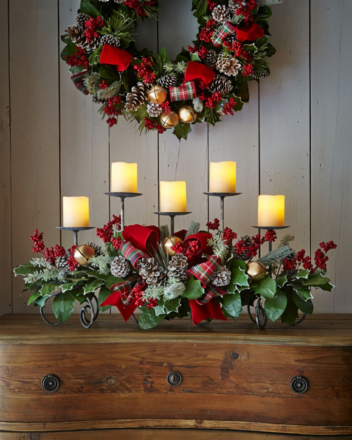 opter pour les bougies décoration de Noël