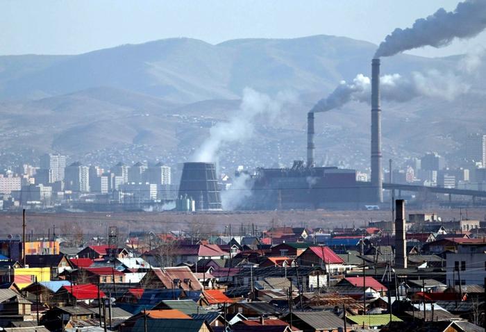 oulan-bator capitale mongolie industrie usines