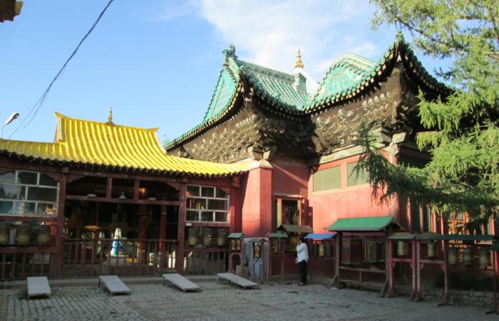 oulan-bator le monastère gandan