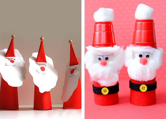 Activit manuelle facile proposer vos enfants pendant les f tes de no l - Decoration gobelet plastique ...