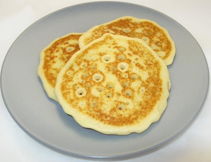 pancakes au lait de soja idée recette avec du lait