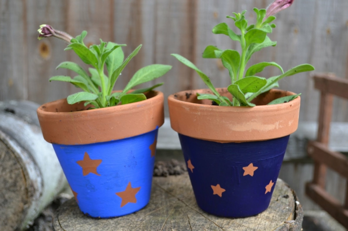 pots de fleurs
