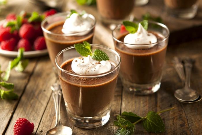 préaprer la recette mousse au chocolat