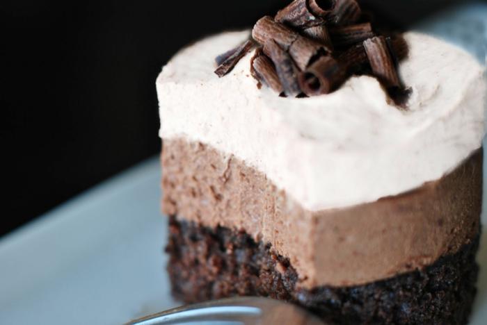 recette mousse au chocolat idée pour gâteau