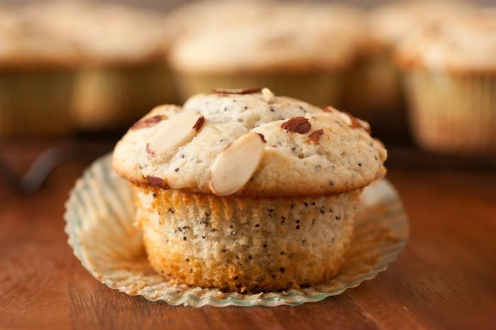 recette muffins au lait d'amande