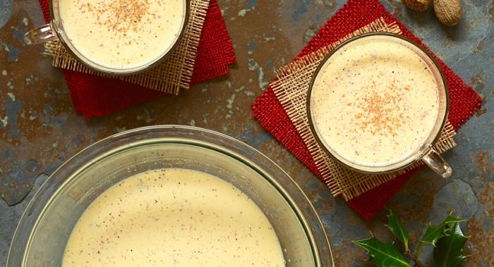 recette punch eggnog pour noël