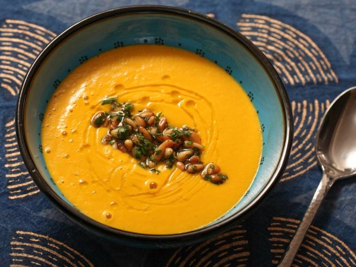 soupe au gingembre et carottes bienfaits du gingembre