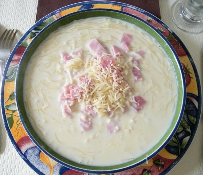 soupe au lait idée recette avec du lait