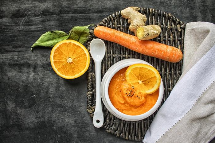soupe aux carottes et gingembre bienfaits du gingembre